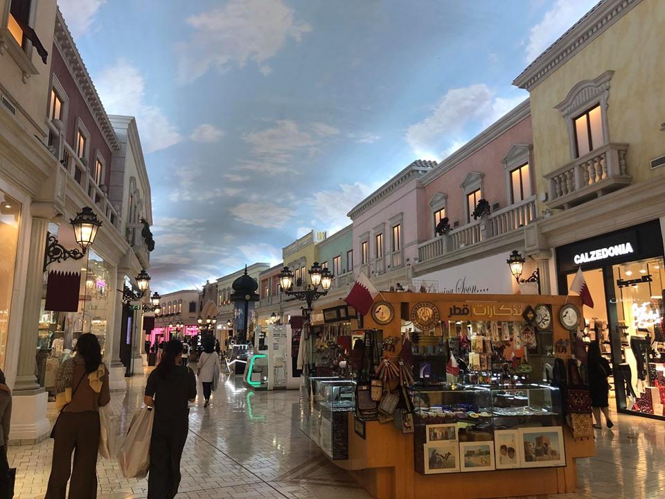 【カタール観光】実はただのパクり?笑 カタールの誇る最大のショッピングセンター「ベラジオ」に行ってきたにょ