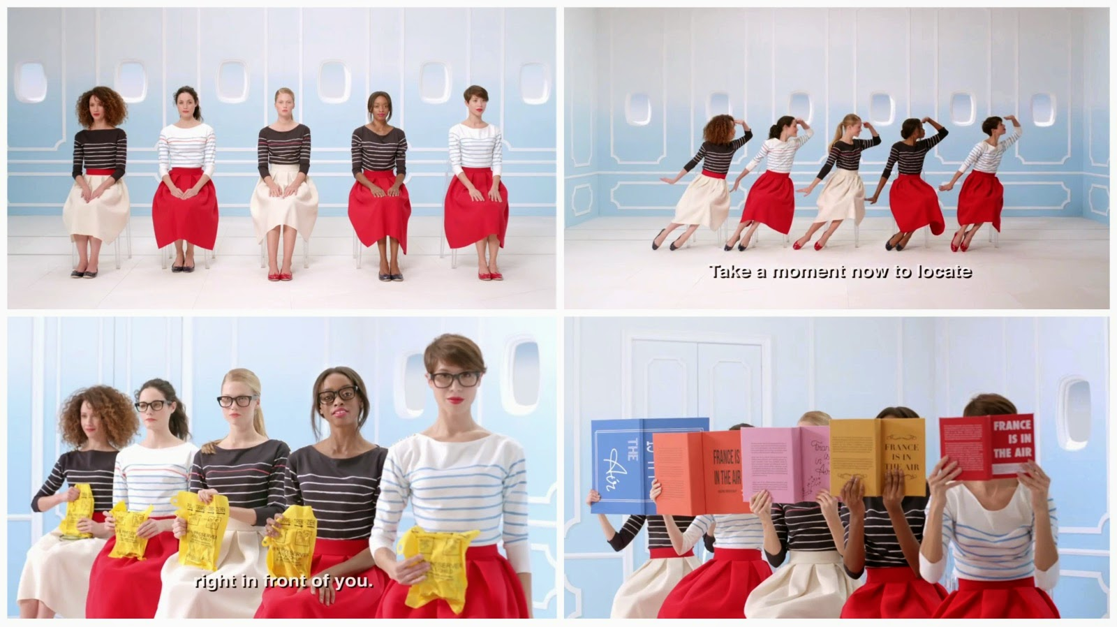 もう「つまんない」なんて言わせません!(笑)世界の美しすぎる&キュートな機内安全ビデオ3選